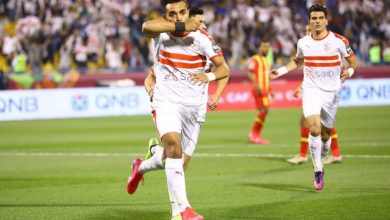 Photo of لاعبو الزمالك يخوضون الإحماء وسط هتافات الجماهير
