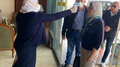 Photo of صور.. وزيرة الصحة تخضع للكشف الطبي بالمطار عقب عودتها من الصين
