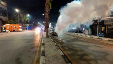 Photo of محافظ البحيرة: يقود حملة لتعقيم وتطهير شوارع دمنهور (صور)