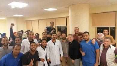 Photo of عااااااش..كتيبة الحجر الصحي بأسوان تحتفل بشفاء 6 حالات وتعافيهم من كورونا