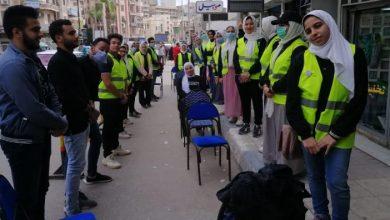 Photo of طلاب ( من أجل مصر ) تشارك فى فعاليات تنظيم صرف المعاشات بمحافظة البحيرة