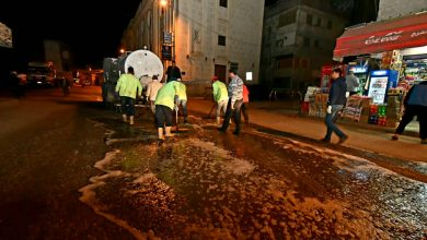 Photo of استمرار حملات نظافة وتعقيم شوارع مدن ومراكز البحيرة خلال فترة حظر التجول (صور)