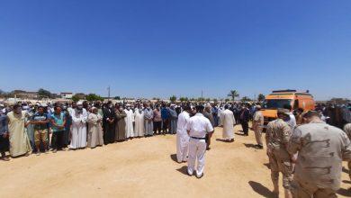 Photo of تشييع جنازة «الشهيد  احمد عبد الكريم» بمسقط رأسه في البحيرة (صور)