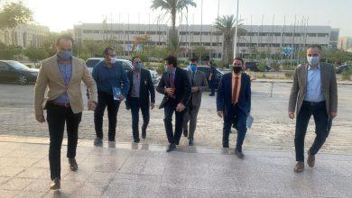 Photo of صور | وزير الرياضة ينضم لإجتماع الأولمبية