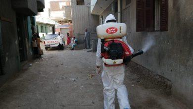 Photo of بالصور .. إستمرار أعمال رش وتطهير الشوارع والمنشآت بمدن ومراكز البحيرة