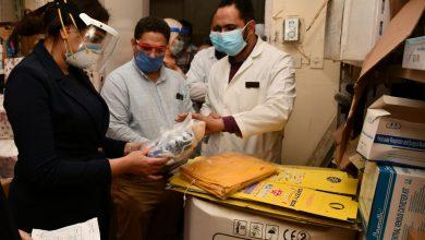 Photo of نائب المحافظ تتابع سير العمل بمستشفيات المحمودية وادفينا المركزى
