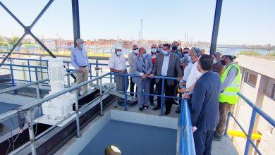 Photo of محافظ البحيرة يطلق اشارة بدء التشغيل التجريبي لمأخذ ومحطة مياه الرحمانية