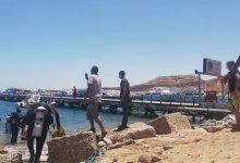 Photo of شاهد|صور..حملة لتنظيف قاع البحر في مدينة شرم الشيخ