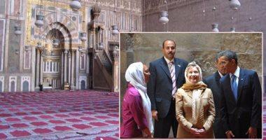Photo of مسجد السلطان حسن.. أثري عريق وضعت صورته على الـ 100 جنيه وزاره أوباما