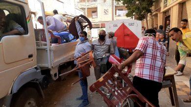 Photo of لعدم الإلتزام بالقرارات الإحترازية.. غلق ٣ مقاهي و إزالة ٤٦٨ مخالفة إشغال بالبحيرة