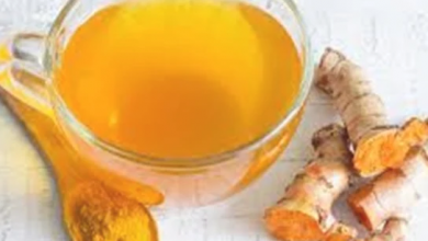 Photo of وصفة مشروب الكركم والزنجبيل لنسف دهون الكرش
