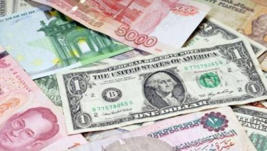 Photo of أسعار العملات الأجنبية أمام الجنيه المصرى اليوم