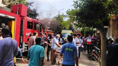 Photo of الحماية المدنية تسيطر علي حريق نشب فى شقة بمدينة نصر