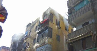 Photo of إنقاذ فتاة سقطت من الطابق الثالث هربا من حريق بالطالبية