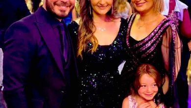 Photo of أحمد زاهر وعائلته في ظهور جديد يخطف الأنظار