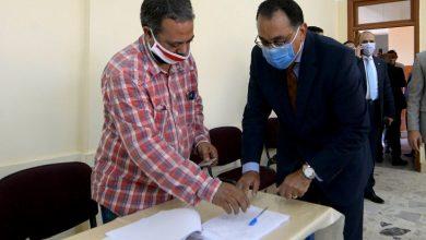 "Photo of شاهد صور …""مدبولي"" أثناء الإدلاء بصوته في انتخابات مجلس الشيوخ"