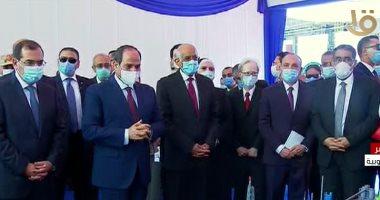 Photo of السيسى يتفقد مجمع التكسير الهيدروجينى للبترول فى مسطرد