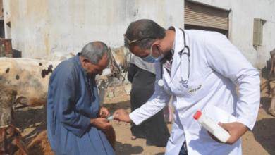 Photo of محافظ الغربية يتفقد القافلة الطبية البيطرية