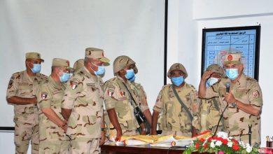 Photo of القوات المسلحة يشهد المرحلة الرئيسية لمشروع تكتيكى بجنود تنفذه إحدى وحدات المنطقة الشمالية العسكرية