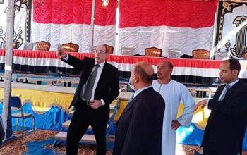 Photo of رئيس اللجنة العامة لانتخابات النواب بالجيزة يتفقد لجان الصف