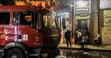 Photo of السيطرة على حريق داخل مركز تجارى فى حلوان