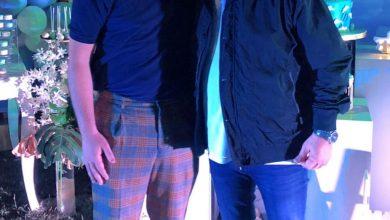 "Photo of أشرف زكي يهنئ مصطفي خاطر بمولودة الجديد""علي""."