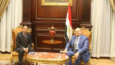 Photo of كرم جبر بلقاء رئيس مجلس الشيوخ:هدفنا واضح بمساندة الدولة المصرية