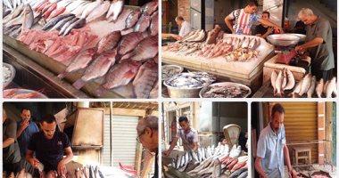 Photo of انخفاض أسعار الاسماك بسوق العبور