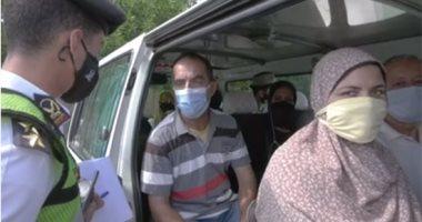 Photo of ضبط 5736 سائق لعدم ارتداء الكمامة
