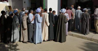 Photo of توافد الناخبون على اللجان الانتخابية للإدلاء بأصواتهم في البحيرة