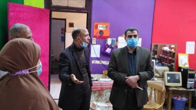 Photo of وكيل وزارة التعليم بالقليوبية يشدد على الإجراءات الوقائية والاحترازية ووكيل المديرية تتابع المدارس