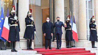 Photo of شاهد صور استقبال الرئيس الفرنسي ماكرون للرئيس السيسي بقصر الاليزيه