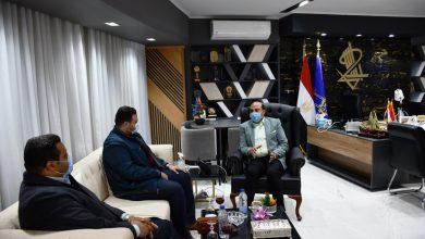 Photo of لقاء قيادات حزب العدل بمحافظ أسوان