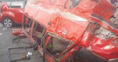 Photo of انقلاب سيارة و إصابة 8 أشخاص في الشرقية