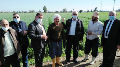 Photo of رئيس قطاع الخدمات والمتابعة بالوزارة فى زيارة لزراعة البحيرة