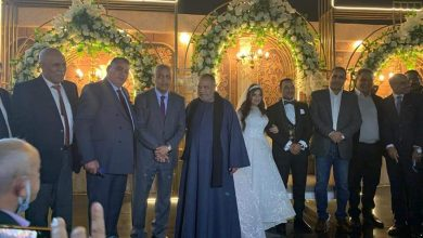 Photo of فرحة ال مخلوف وحمدان بزفاف وسيم كمال علي مني فاروق