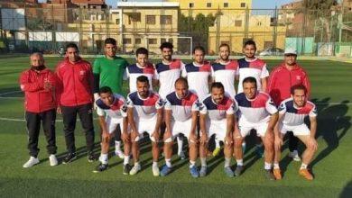 "Photo of "" العبور "" بطلا لدوري الميني فوتبول ببني سويف"