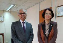 Photo of وزير الحكم المحلي وإدارة الكوارث في موريشيوس يستقبل سفيرة مصر
