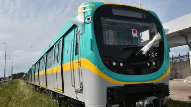 Photo of وصول قطار مترو الأنفاق السابع ومكونات القطار الأول لتجميعهم محليًا