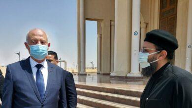 Photo of صور… الرئيس التونسى قيس سعيد يزور كاتدرائية ميلاد المسيح بالعاصمة الإدارية