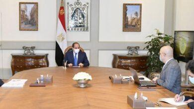 Photo of الرئيس السيسي يوجه بتطوير منطقة الفسطاط وزيادة نسبة المسطحات الخضراء