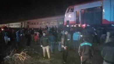 Photo of صور..إصابة العشرات فى حادث خروج قطار القاهرة عن القطبان قرب محطة منيا القمح