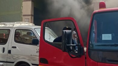Photo of اندلاع حريق بمخزن قطن وستائر فى منزل بحى الأربعين بالسويس