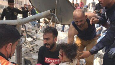 Photo of بالصور..ارتفاع حصيلة ضحايا المجازر الإسرائيلية على غزة إلى 181 قتيلا