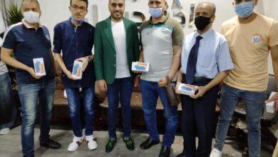 Photo of النائب محمد تيسير مطر يسلم جوائز مسابقة الأسئلة الرمضانيه
