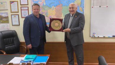 Photo of رئيس جامعة السادات يبحث التعاون مع الأكاديمية الروسية للاقتصاد الوطنى