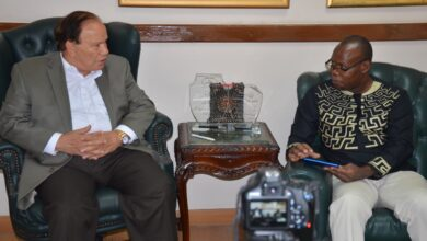 """Photo of بالصور :تلفزيون أنجولا يجرى حواراً مع الدكتور """"صديق عفيفى"""" عن إستخدام الذكاء الاصطناعي فى الاكتشاف المبكر لسرطان الثدي ."""