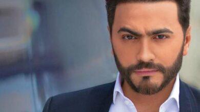 """Photo of تامر حسني يطرح فيديو كليب أغنيته الجديدة """"يافرحه"""""""
