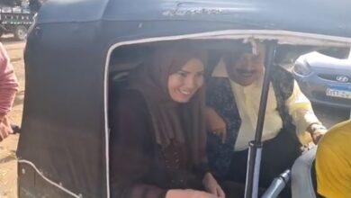"""Photo of رانيا فريد شوقي في توك توك من كواليس حدوتة """"أم العيال"""" بمسلسل """"زي القمر"""""""