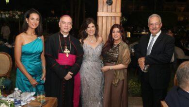 Photo of شاهد بالصور : حفل زفاف اسطوري لأبنة الدكتورة مني زكي : بحضور وزراء و سفراء الدول الأوروبية